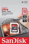 Фото -  Карта памяти SanDisk Ultra SDHC 32GB Class 10 UHS-I 30MB/s(SDSDU-032G-U46)