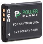 Фото -  Aккумулятор PowerPlant Sanyo DB-L80, D-Li88 (DV00DV1289)