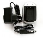 Фото -  Зарядное устройство PowerPlant Canon NB-6L, Samsung SLB-10A (DV00DV2232)
