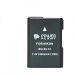 Фото -  Aккумулятор PowerPlant Nikon EN-EL14 Chip (D3100, D3200, D5100) (DV00DV1290)