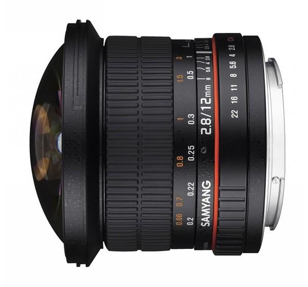 Купить -  Samyang 12mm F2.8 ED AS NCS Fish-eye Canon EF