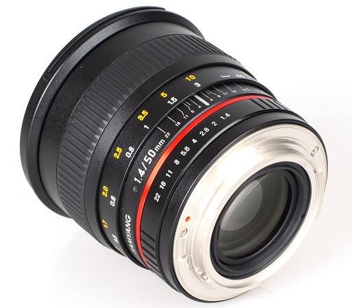 Купить -  Samyang 50мм f/1.4 AS UMC Canon EF
