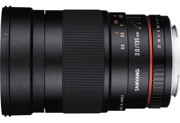 Купить -  Samyang 135mm f/2.0 ED UMC Canon EF