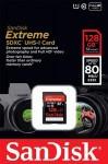 Фото -  Карта памяти SanDisk Extreme Plus 128GB SDXC Class 10 UHS-I 80MB/s (SDSDXS-128G-X46)