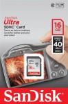 Фото -  Карта памяти SanDisk Ultra SDXC 64GB Class 10 UHS-I 40MB/s (SDSDUN-064G-G46)