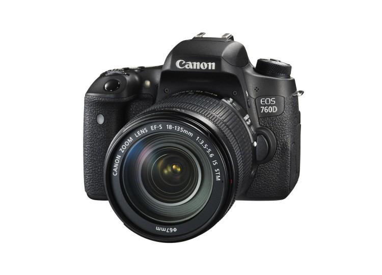 Купить - Canon Canon EOS 760D + объектив 18-135mm f/3.5-5.6 IS STM (Kit) Официальная гарантия!