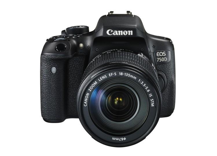 Купить - Canon Canon EOS 750D + объектив 18-135mm f/3.5-5.6 IS STM (Kit)
