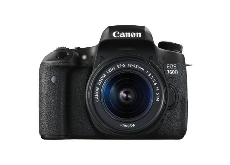 Купить -  Canon EOS 760D + объектив 18-55mm f/3.5-5.6 IS STM (Kit) Официальная гарантия!