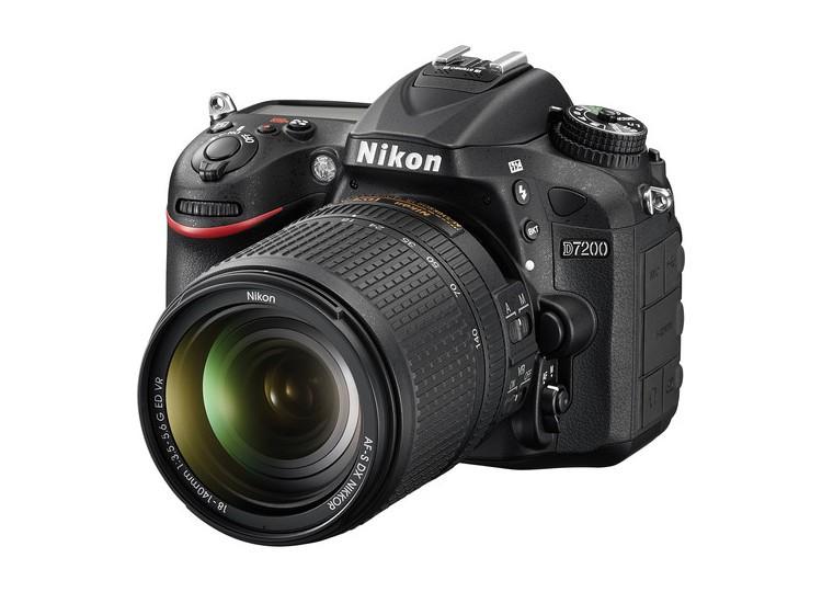 Купить - Nikon Nikon D7200 + объектив 18-105mm f/3.5-5.6G ED VR (Kit) + Подарочный сертификат на 1000 грн на покупку аксессуаров !!!