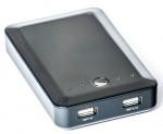 Фото -  Универсальная мобильная батарея PowerPlant/PB-AS026/10400mAh/ (PPAS026)
