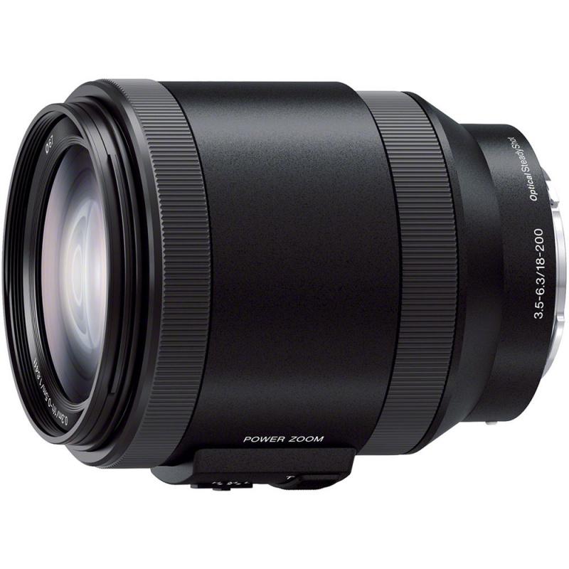 Купить - Sony Sony 18-200mm f/3.5-6.3 Power Zoom для NEX (SELP18200.AE)
