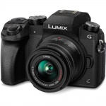 Фото - Panasonic Panasonic DMC-G7 kit 14-42mm Black (DMC-G7KEE-K) + подарочный сертификат 2000 грн !!!