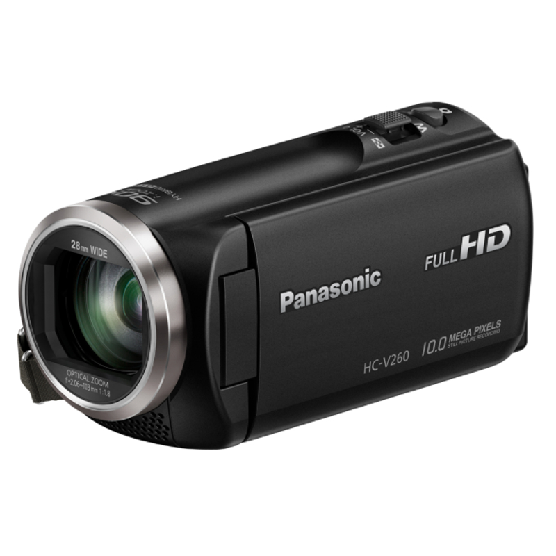 Купить - Panasonic  Panasonic HDV Flash HC-V260 Black (HC-V260EE-K)