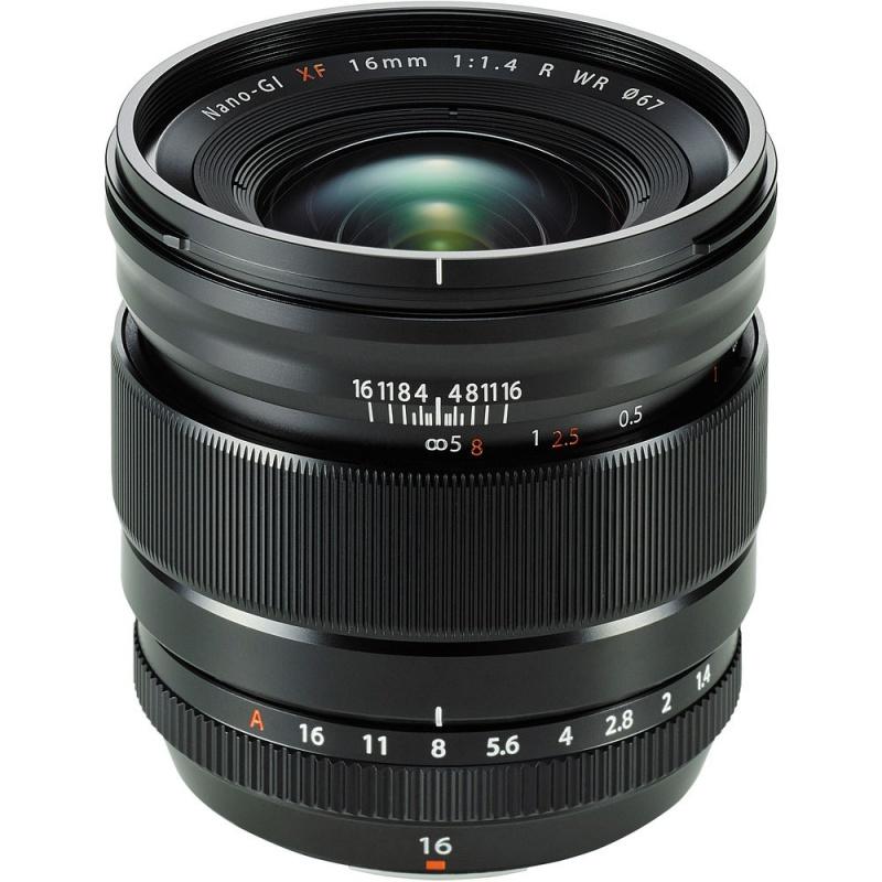 Купить - Fujifilm Fujifilm XF-16mm F1.4 R WR