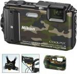 Фото - Nikon Nikon COOLPIX AW130 Camouflage Outdoor kit