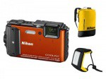 Фото - Nikon Nikon COOLPIX AW130 Orange Diving kit