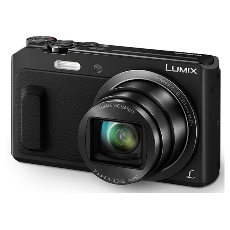 Купить - Panasonic Panasonic LUMIX DMC-TZ57 Black (DMC-TZ57EE-K)