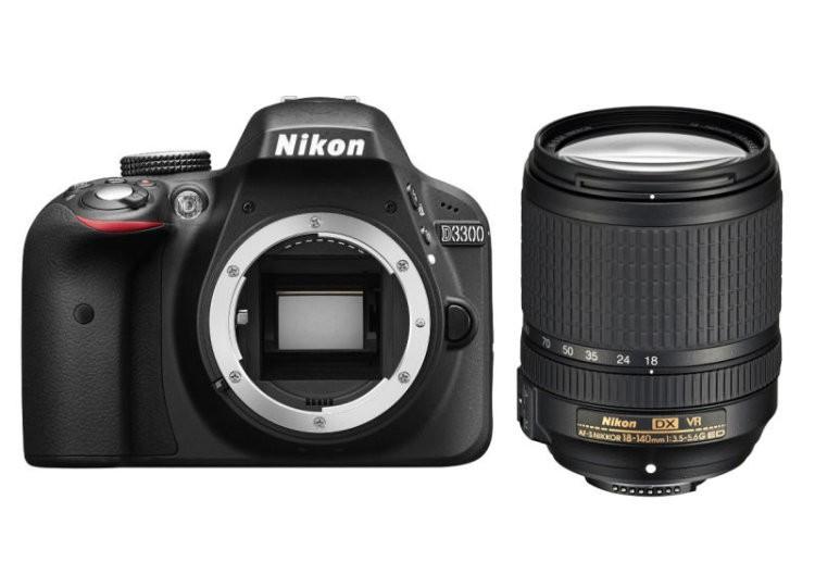 Купить - Nikon Nikon D3300 + объектив 18-140mm f/3.5-5.6G ED VR (Kit) Официальная гарантия!