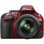 Фото - Nikon Nikon D5200 (Red) + объектив 18-55mm F/3.5-5.6G VR II (Kit) Официальная гарантия!