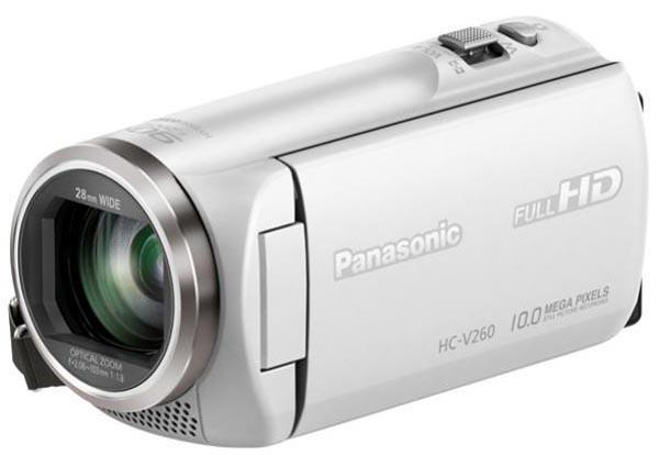 Купить -   Panasonic HDV Flash HC-V260 White (HC-V260EE-W)