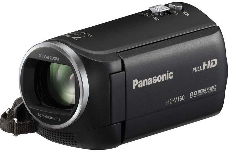 Купить - Panasonic Panasonic HDV Flash HC-V160 Black (HC-V160EE-K)