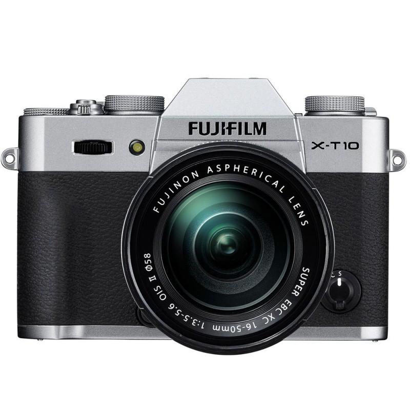 Купить - Fujifilm FUJIFILM X-T10 kit 16-50mm Silver