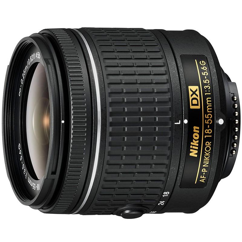 Купить -  Nikon AF-P DX NIKKOR 18–55mm f/3.5–5.6G