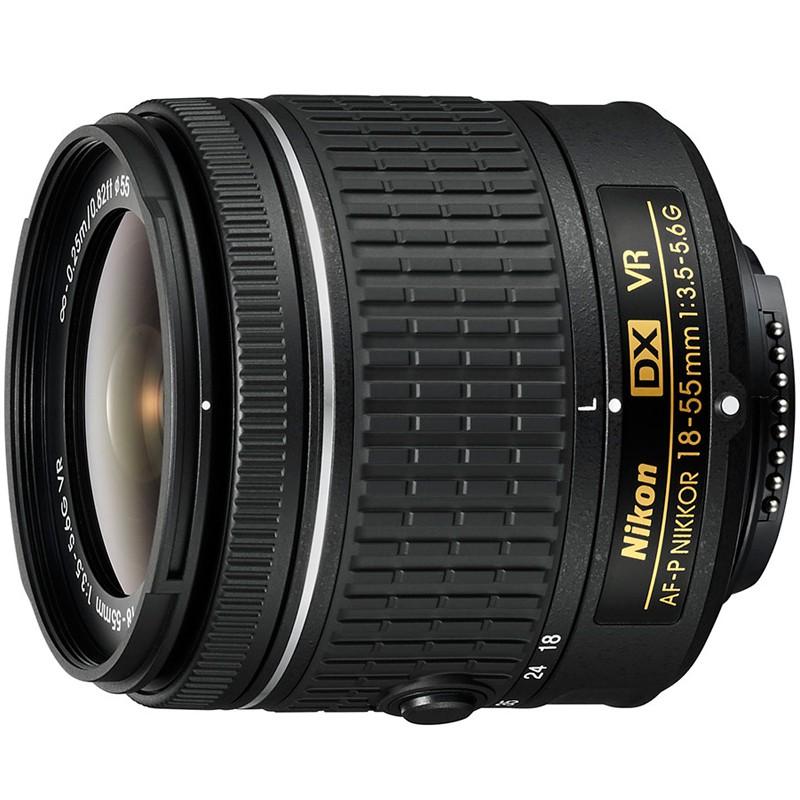 Купить -  Nikon AF-P DX NIKKOR 18–55mm f/3.5–5.6G VR