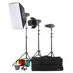 Фото -  Набор студийного света Mircopro MQ-200 unique kit