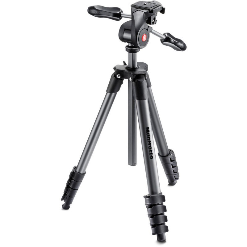 Купить -  Manfrotto Штатив COMPACT ADVANCED BLACK (MKCOMPACTADV-BK)