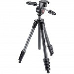 Фото - Manfrotto   Штатив Manfrotto COMPACT ADVANCED BLACK (MKCOMPACTADV-BK)