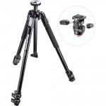 Фото -  Штатив и головка для фотокамеры 190X ALU TRIPOD W 804 MK II (MK190X3-3W1)