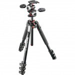 Фото - Manfrotto   Штативный комплект 190 ALU 4 SECTION KIT 3W HEAD (MK190XPRO4-3W)