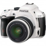 Фото -  Pentax K-50 DSLR Camera with 18-55mm Lens (White)