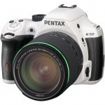 Фото -  Pentax K-50 DSLR Camera with 18-135mm Lens (White)