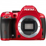 Фото -  Pentax K-50 DSLR Camera (Body Only, Red)