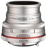 Фото Pentax HD Pentax DA 70mm f/2.4 Limited Silver (Официальная гарантия)