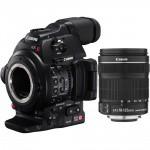 Фото - Canon Canon EOS C100 Mark II + EF-S 18-135mm f/3.5-5.6 IS STM Kit  + В подарок сертификат на 3000 грн!!!