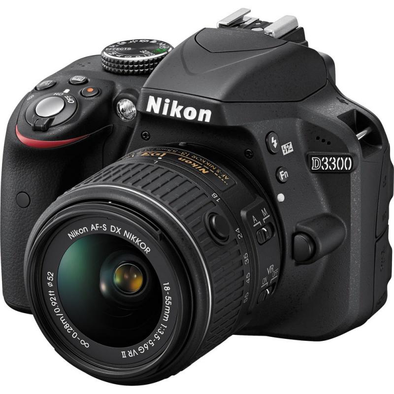 Купить - Nikon Nikon D3300 + AF-P 18-55VR KIT (VBA390K008)