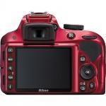 Фото Nikon Nikon D3300 + AF-P 18-55VR Red KIT (VBA391K002)