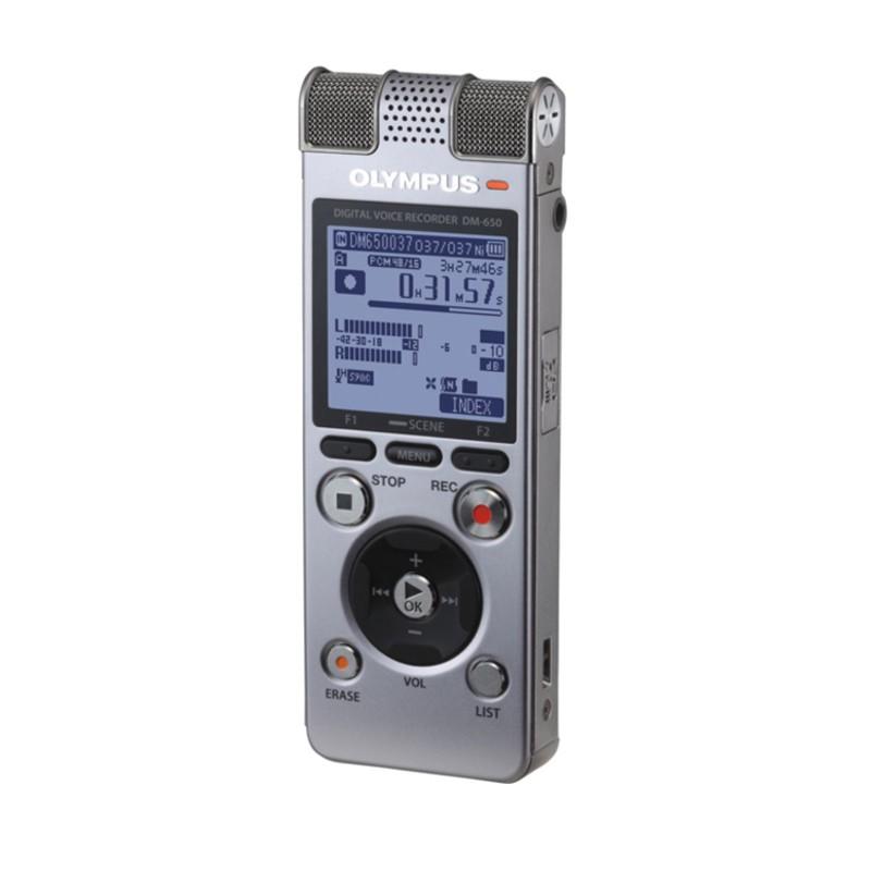 Купить - Olympus Диктофон цифровой OLYMPUS DM-650 4Gb (N2289921)
