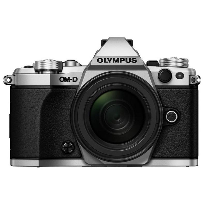 Купить - Olympus OLYMPUS E-M5 mark II 12-50mm Kit серебристый/черный (V207042SE000)