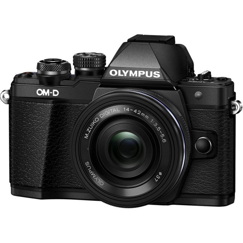 Купить - Olympus Olympus E-M10 Mark II Pancake Zoom 14-42mm Kit Black/Black (V207052BE000)