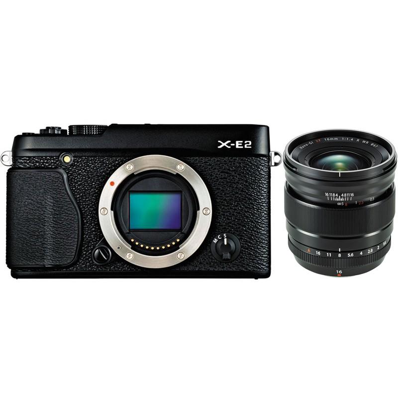 Купить - Fujifilm Fujifilm X-E2 + XF 16mm F1.4 R WR Kit Black