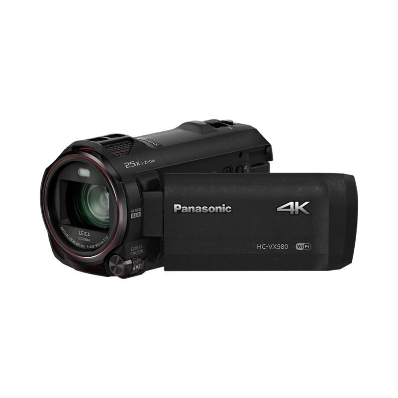 Купить - Panasonic Panasonic HC-VX980 4K Camcorder (HC-VX980EE-K) + подарочный сертификат 1900 грн !!!