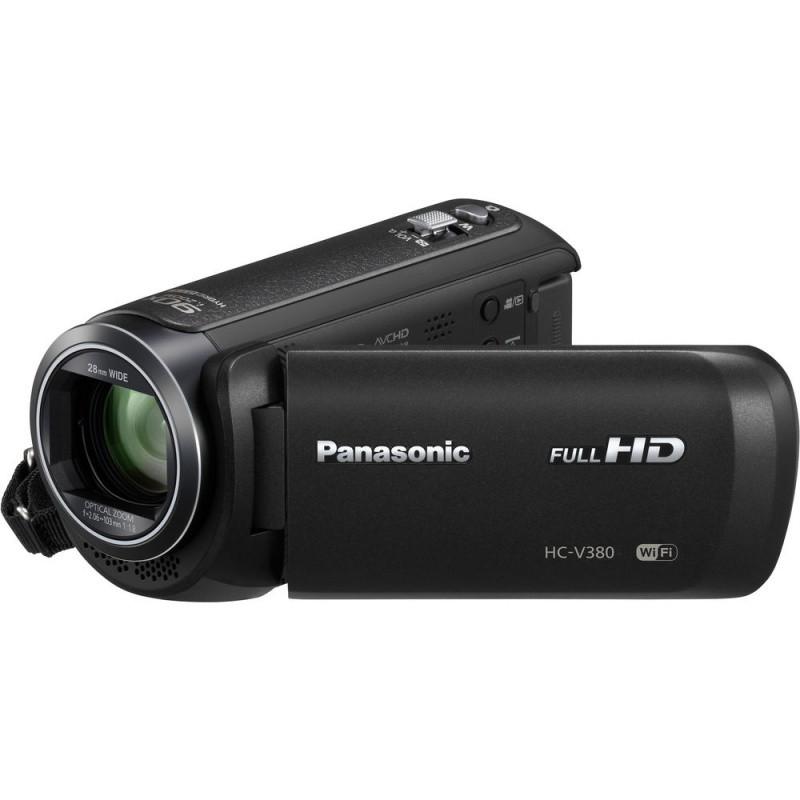 Купить - Panasonic Panasonic HC-V380 Full HD Camcorder (HC-V380EE-K)