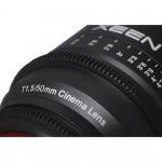 Фото Samyang Samyang XEEN 50mm T1.5 Pro Cine Lens Canon EF