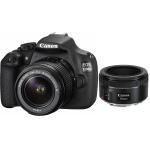 Фото -  Canon EOS 1200D + EF-S 18-55mm f/3.5-5.6 III + EF 50mm f/1.8 STM Kit RUK (9127B131AA)