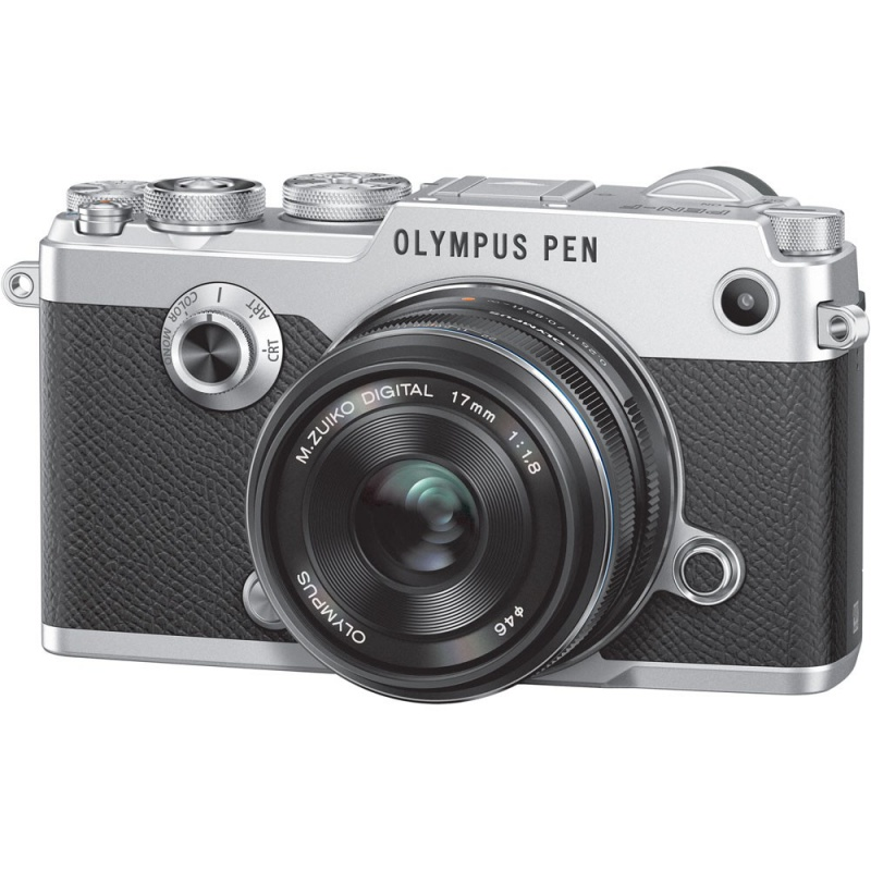 Купить - Olympus OLYMPUS PEN-F 17mm 1:1.8 Kit silver/black
