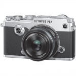 Фото - Olympus Olympus PEN-F 17mm 1:1.8 Kit Silver/Black